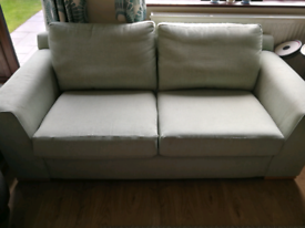 2 Seater Sofa And Chair, pale green, M&S