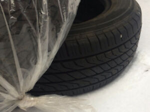 Summer tires/Pneus d'ete, used 2 seasons, $120