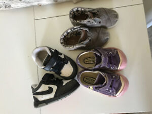 Toddler size 5 brand name shoes