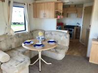 Stunning 6 berth ABI caravan on Scotlands Ayrshire coast open 12 months