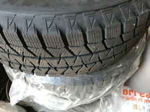 Bridgestone Blizzak Winter Tires (with steel rims) 215 60 16