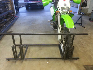 support pour motocross,support a moto,rack