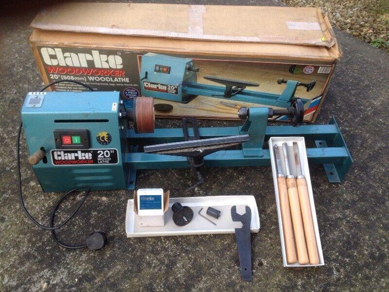 Clarke 20 Wood lathe Manual