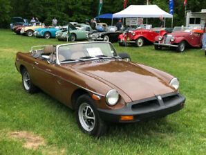 1980 MGB Roadster (all original) excellent condition