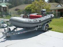 Avon dinghie life saving style boat Wauchope Port Macquarie City Preview