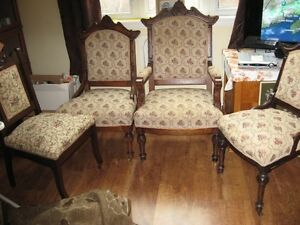 Antique Parlor Chairs