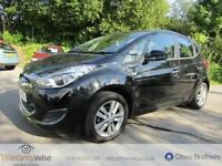 HYUNDAI IX20 ACTIVE, Black, Auto, Petrol, 2012 Mot March 2018, 2 Owners