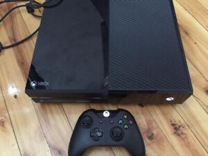 Console xbox one comme neuve // xbox one like new