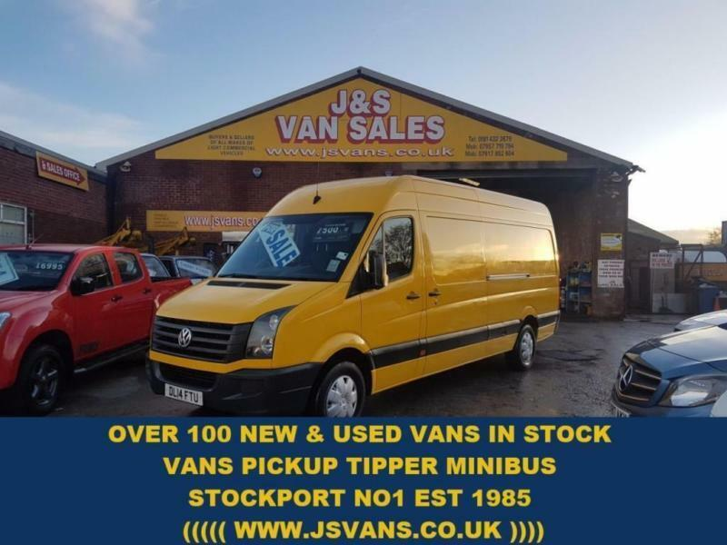 2014 14 VOLKSWAGEN CRAFTER 2.0 CR35 TDI H/R P/V STARTLINE LONG WHEEL BASE 1 OWNE