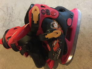 Kids adjustable skates