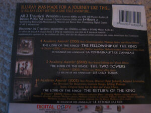 The Lord Of The Rings The Motion Picture Trilogy Blu-ray Disc Strathcona County Edmonton Area image 3