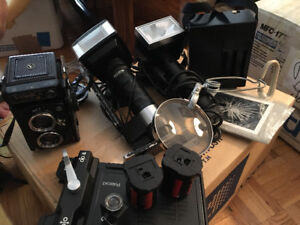 YASHICA MDT-124 film camera and more!!