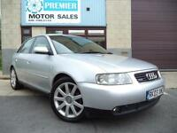 2003 AUDI A3 1.9 TDI 130 QUATTRO SPORT (5dr), 10 SERVICE STAMPS, GREAT CONDITION