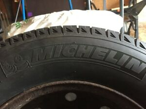 Michelin Winter tires XIce Xi2 with rims  215/70 R16 for Subaru