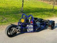 RTR / MEV TR1KE R1 ENGINE KIT CAR AROUND 450BHP PER TONNE