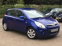 2010 Hyundai i20 1.4CRDi Comfort DIESEL 5 Door Blue only 59,762 Miles SUPERB!!!!
