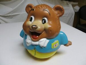 Fisher Price Roly-Poly Bear - Vintage