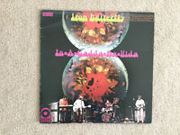 Iron Butterfly In-A-Gadda-Da-Vida 33 1/3 RPM vinyl LP
