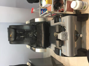4 spa pedicure chairs for sale