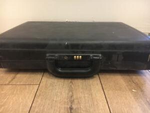 Black Combination Briefcase