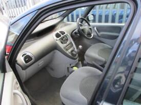 2007 Citroen Xsara Picasso MPV 1.6 16V 110 VTX Petrol grey Manual