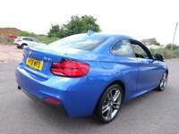 2018 18 REG BMW 2 SERIES 218i M SPORT AUTO COUPE DAMAGED SALVAGE