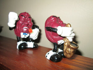 2 original, 1987 CALIFORNIA RAISINS.