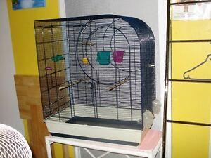 1 magnifique cage pour oiseau entièrment équipée