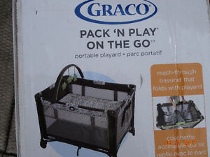Graco Pack-n-Play On the Go portable playard with bassinet