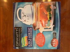 New Gravitti Low Fat Multi Cooker