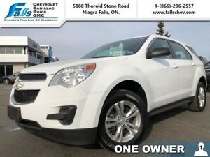 "2015 Chevrolet Equinox LS  BLUETOOTH,17""ALLOYS,ONE OWNER,ACCIDEN"