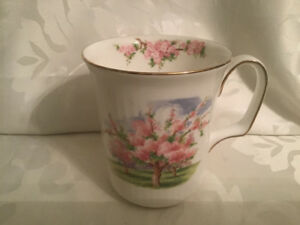 Royall Albert Blossomtime Blossom Time Coffee Mug