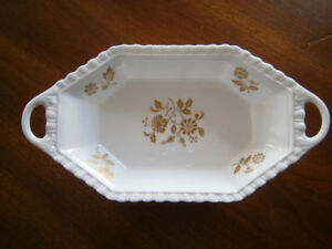 UNIQUE SPODE BONE CHINA CANDY DISH