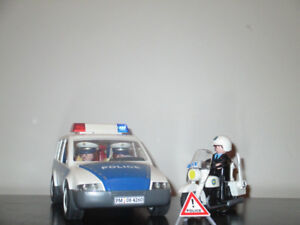 kit de playmobil de police