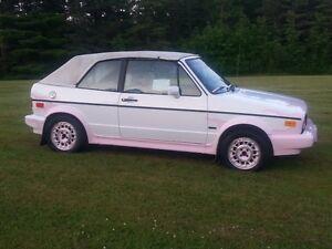 1991 Volkswagen Golf Convertible