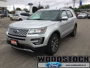 2016 Ford Explorer Platinum  - Chrome Trim - Low Mileage