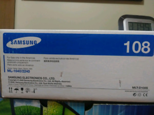 Samsung 108 toner cartridge with free delivery