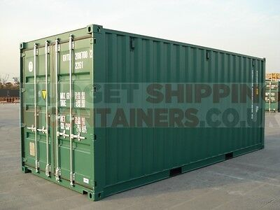 New 20ft DV Shipping Container