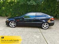 2009 Mercedes-Benz Clc Class 1.8 CLC180 Kompressor Sport 2dr Auto +ULEZ +Petrol