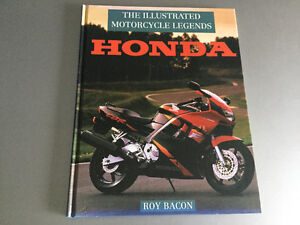 Illustrated Motorcycle Legends: Honda by Roy Bacon 1958-1994