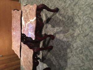 Marble coffee tables for sale.