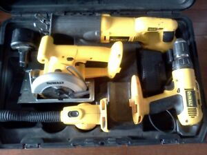 complete dewalt 18v-volts kit