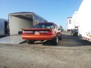85 mustang fox drag car