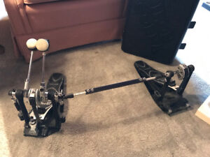 Double-beater bass drum pedal, Iron Cobra by TAMA