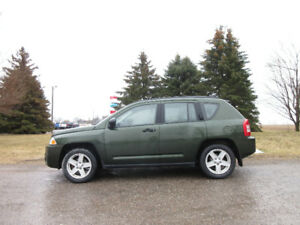 2007 Jeep Compass Sport 4WD- 4 BRAND NEW TIRES!!  ONLY $6950