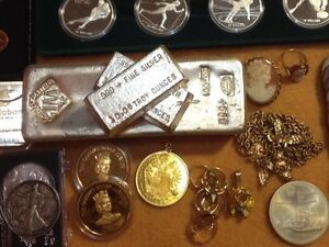 Buying SILVER & GOLD All kinds: Coins Jewellery Bullion Sterling