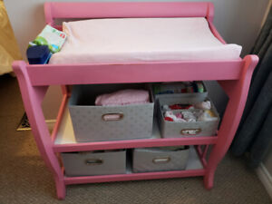Pink change table
