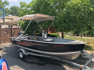 15' smokercraft and 20hp mercury for sale