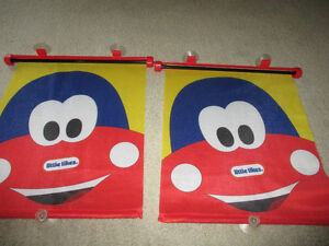 roller window shades baby/toddler fits any car window