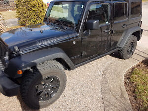 2016 Jeep Wrangler Unlimited Willys Sport - With Extra Options